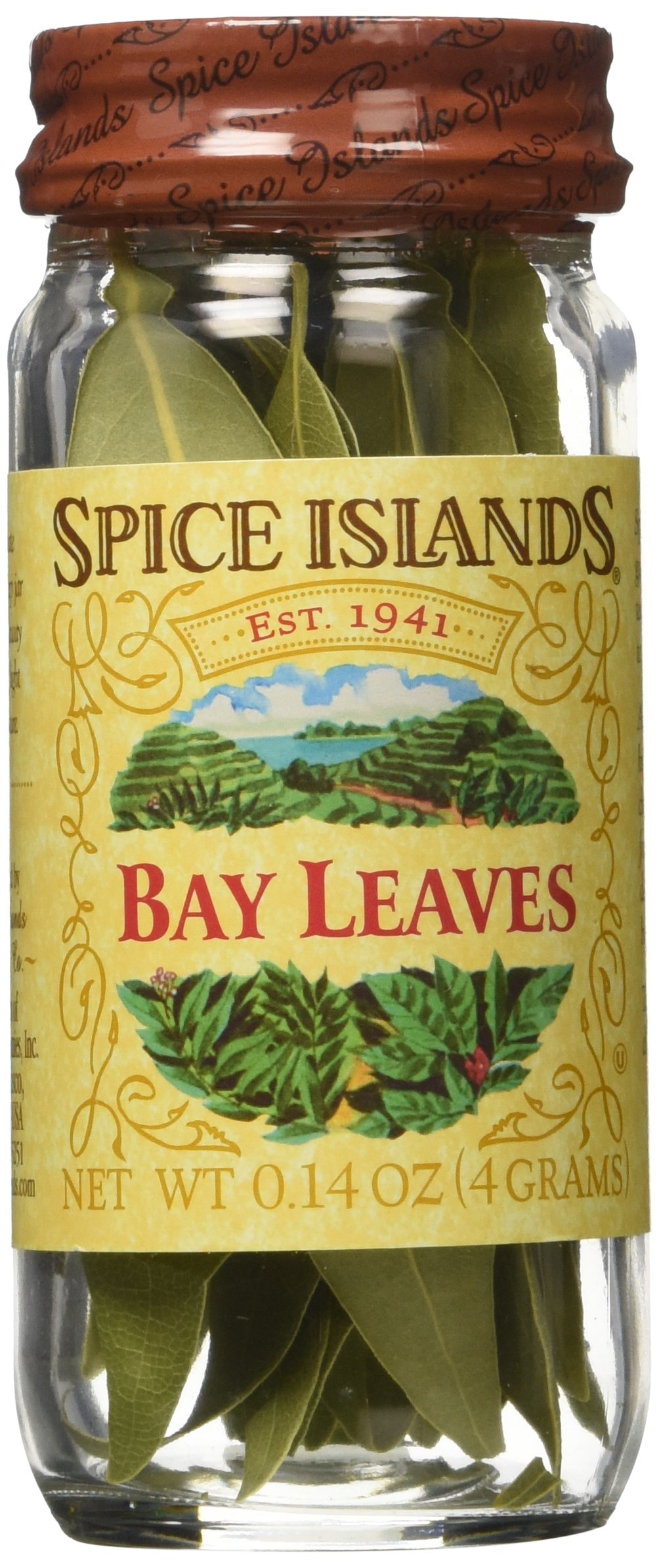 Spice Islands Bay Leaves Whole, 0.14-oz