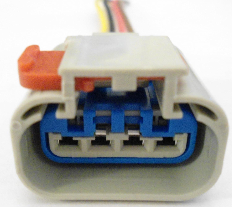 amazon com connector for fuel pump sender wiring harness gas 888159 chrysler dodge pt1402 automotive