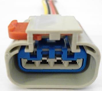 81aVi9ZyHiL._SX355_ amazon com connector for fuel pump sender wiring harness gas 888159