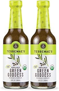 product image for Tessemae's All Natural Salad Dressing 2-Pack (Organic Green Goddess)