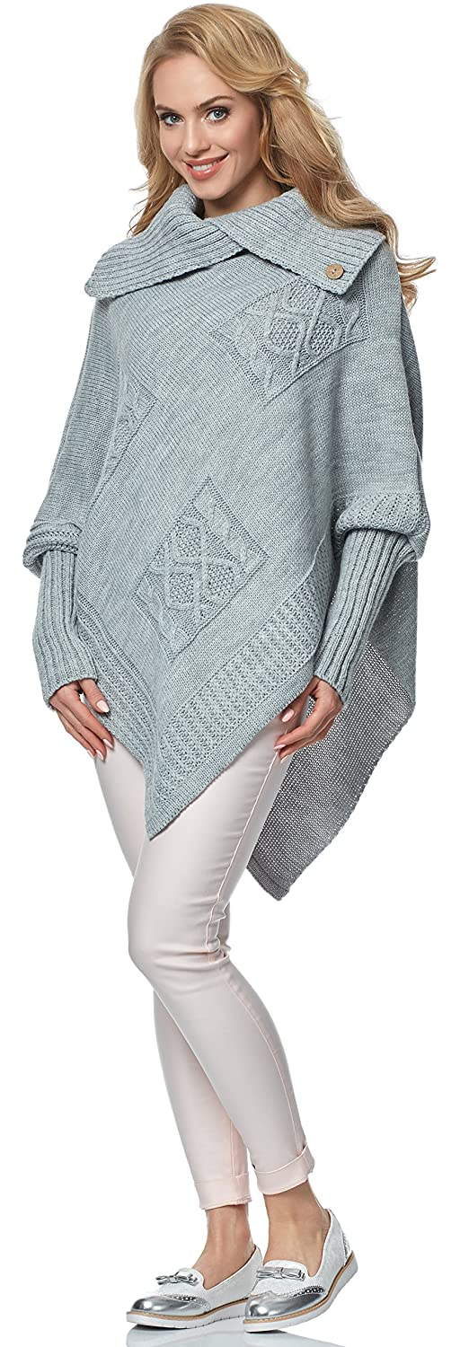 Merry Style Poncho Donna MSSE0021
