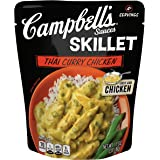 Campbell's Skillet Sauces, Thai Curry Chicken, 11 Ounce (Pack of 6) (Packaging May Vary)