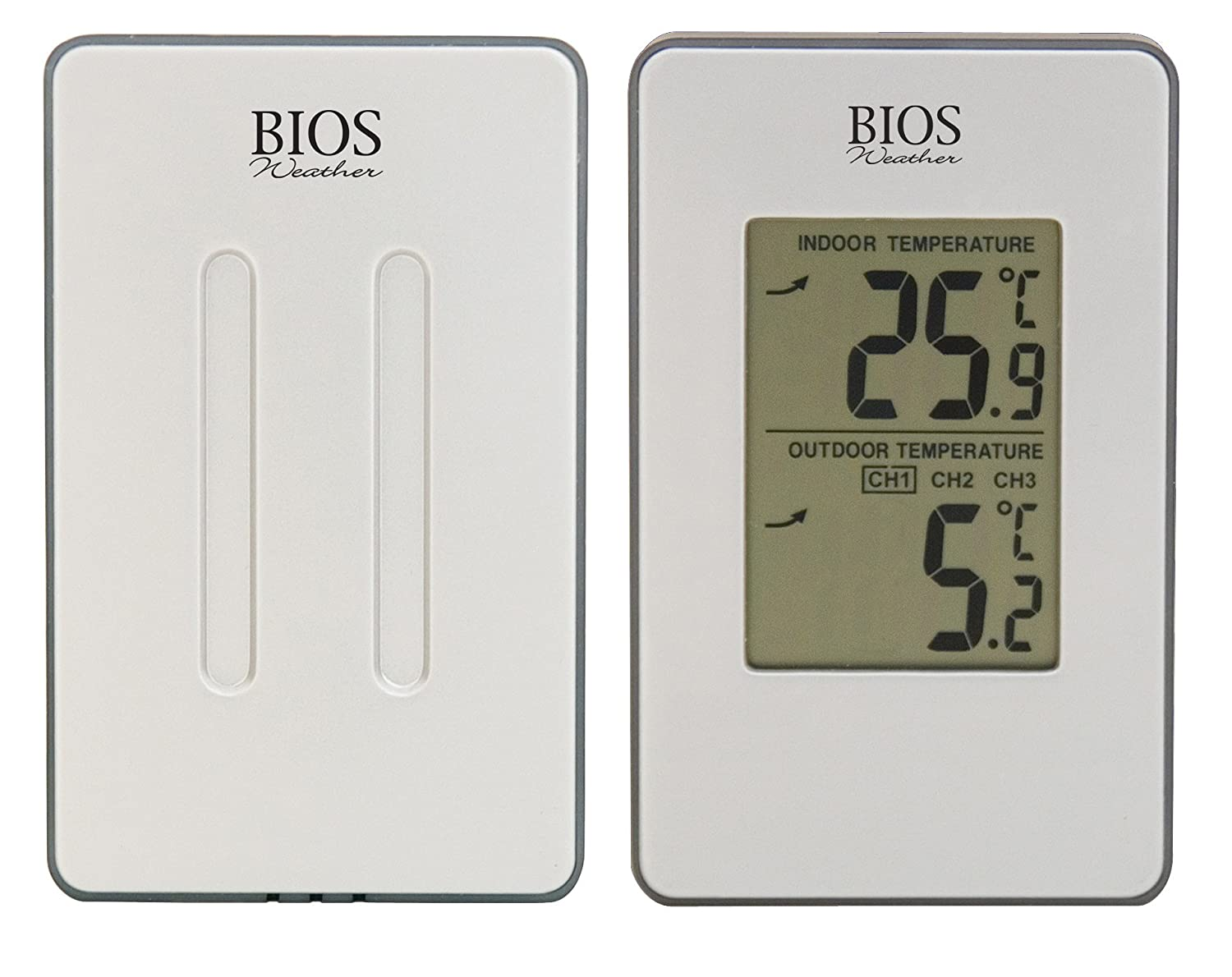 Amazon.com: Thermor Bios Indoor/Outdoor Wireless Thermometer ...