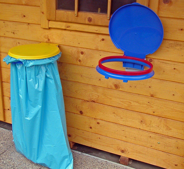 Gies supporto sacco rifiuti, blu, 120litri 5528