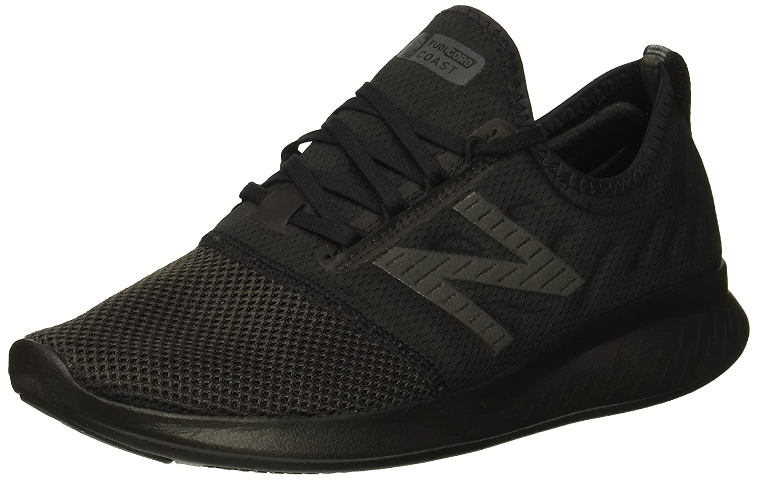 New Balance Women's Coast V4 FuelCore Running Shoe B075R7JN7V 7 D US|Black