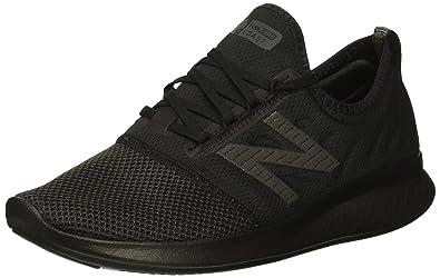6141aeb18 New Balance Women's Coast V4 FuelCore Running Shoe, Black, ...