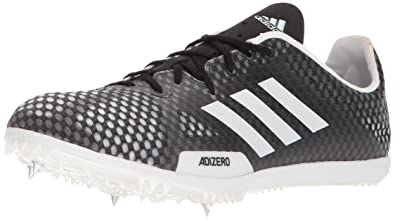 cheaper 6bf89 b9217 Adidas Mens Adizero Ambition 4 Running Shoe, Core Black, FTWR White, Hi-