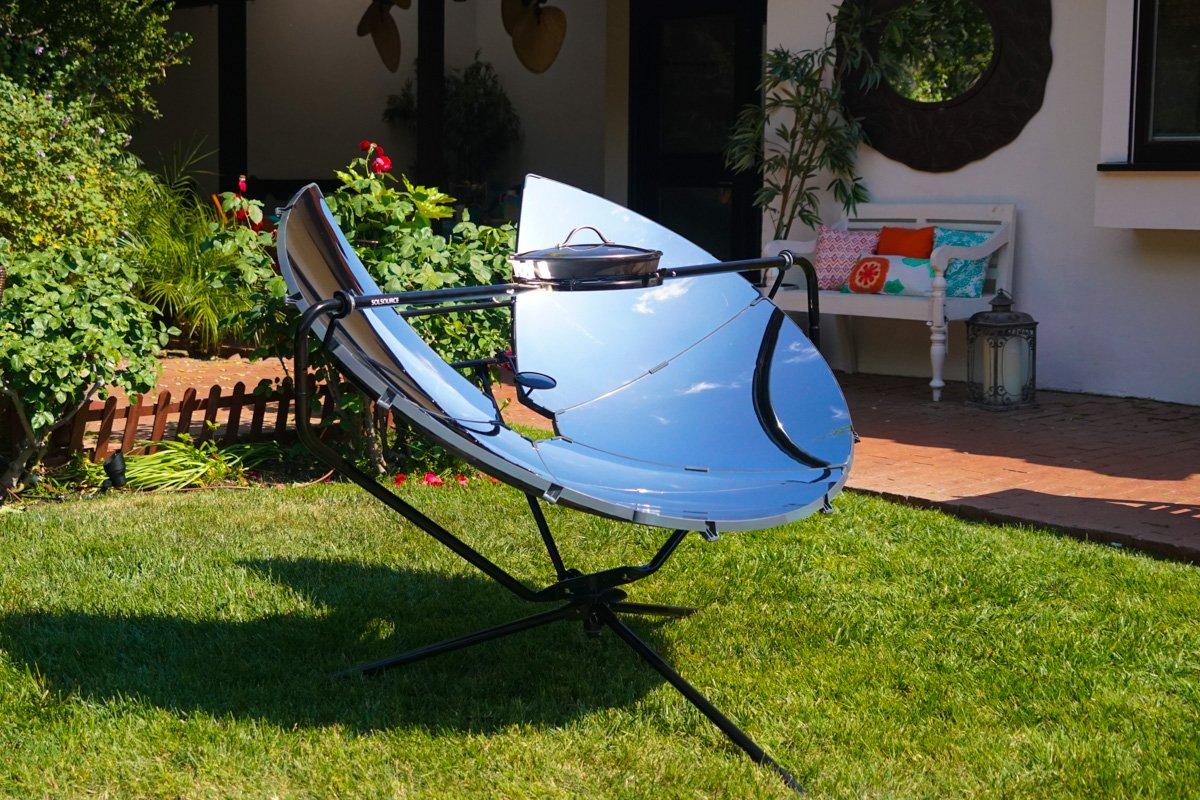 SolSource Parrilla/horno Solar Cooking Classic cocinar y asar al aire libre   Diseños de One Earth: Amazon.es: Hogar