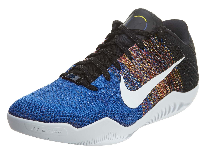 Blau   Orange   Schwarz(Multi-Farbe   Weiß-game Royal) Nike Herren Kobe Xi Elite Low BHM Basketballschuhe