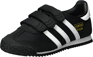 Perfecto Maligno propiedad  adidas Unisex Kids' Dragon OG CF Trainers, Black (Core Black/FTWR  White/Core Black), 2 UK 34 EU: Amazon.co.uk: Shoes & Bags