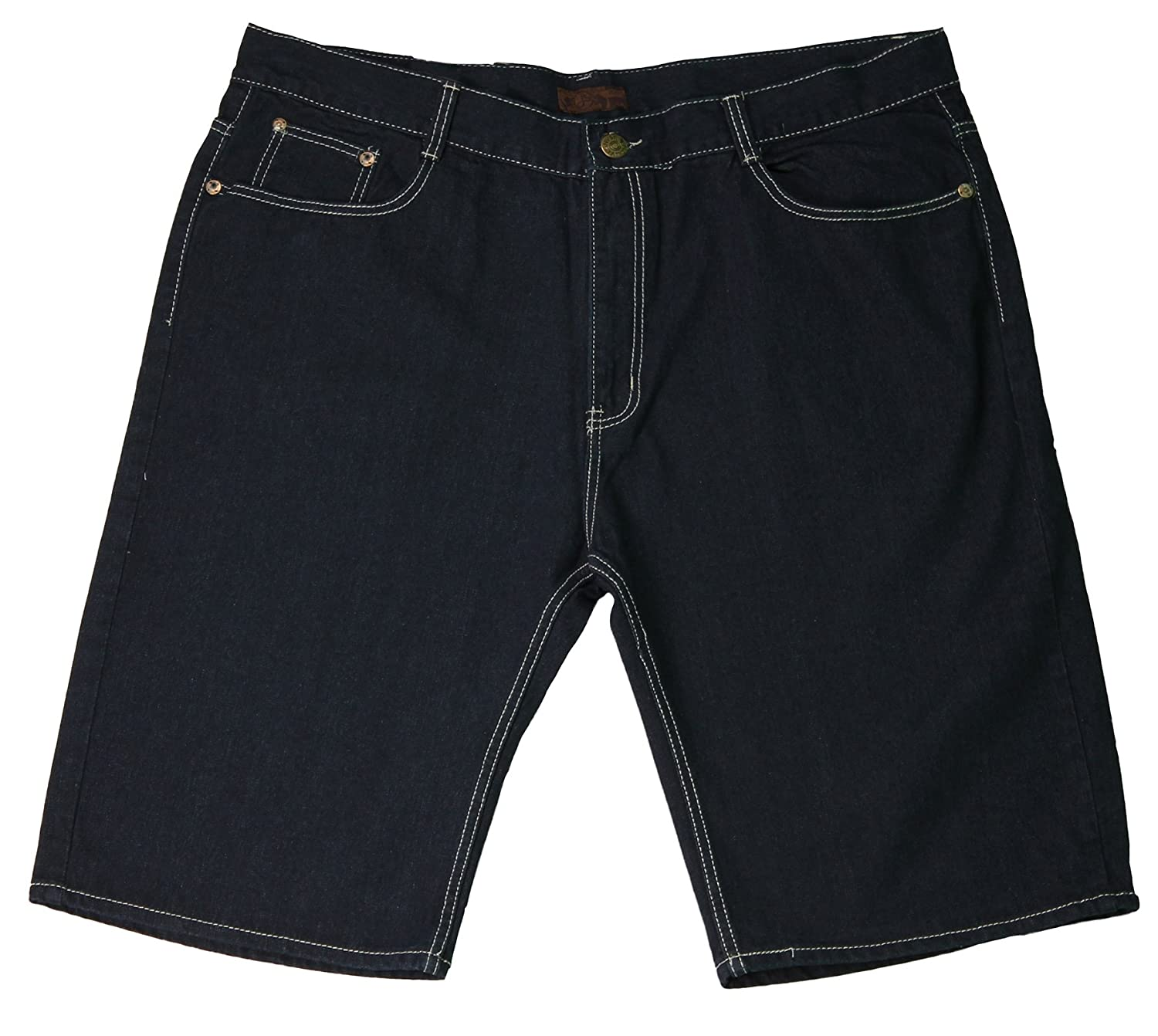 Jean Station Big Men's Denim 5-Pocket Fashion Shorts JSS13006X