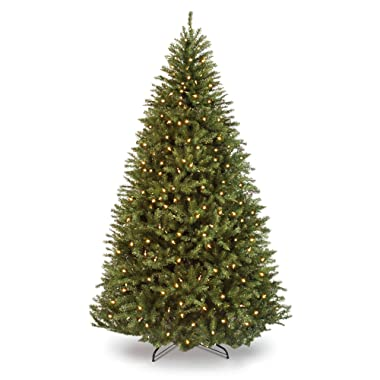 Best Choice Products 9ft Pre-Lit Hinged Douglas Full Fir Artificial Christmas Tree Holiday Decoration w/ 3594 Branch Tips, 1000 Warm White Lights, Easy Assembly, Foldable Metal Stand, Green