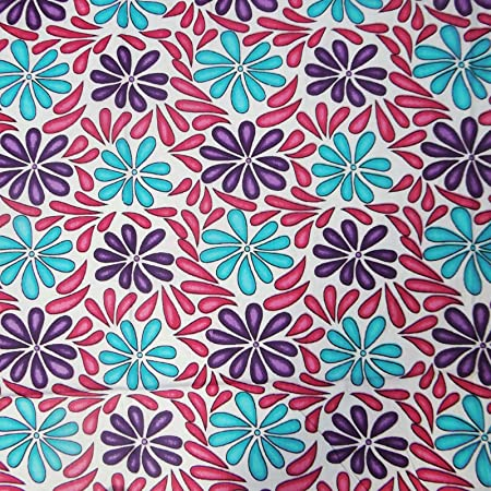 Dress Making Multicolor Designer Fabric Printed Cotton Sew Material By 1 Metre