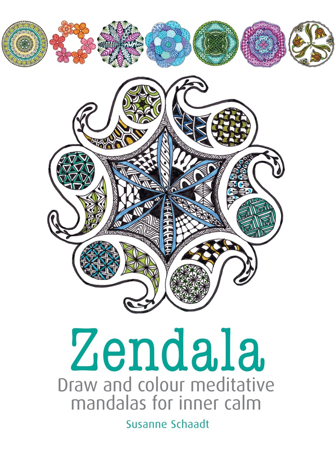Download Zendala: Draw and colour meditative mandalas for inner calm ebook