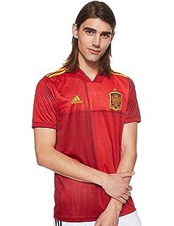 Camiseta Adulto Réplica de España. Producto Oficial Licenciado Mundial Rusia 2018. (Rojo, Talla S): Amazon.es: Deportes y aire libre