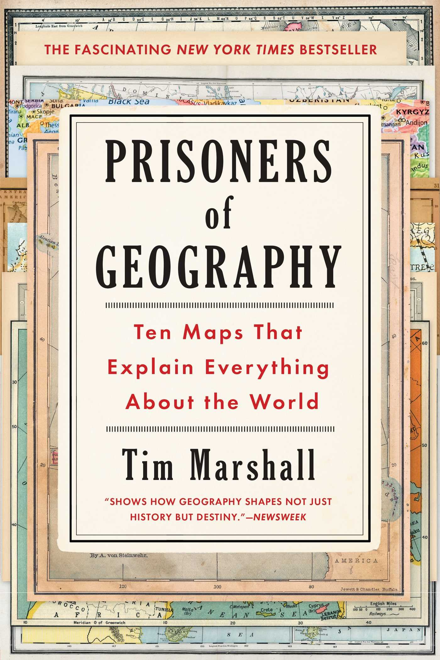 Amazon prisoners of geography ten maps that explain amazon prisoners of geography ten maps that explain everything about the world 9781501121470 tim marshall books buycottarizona Choice Image