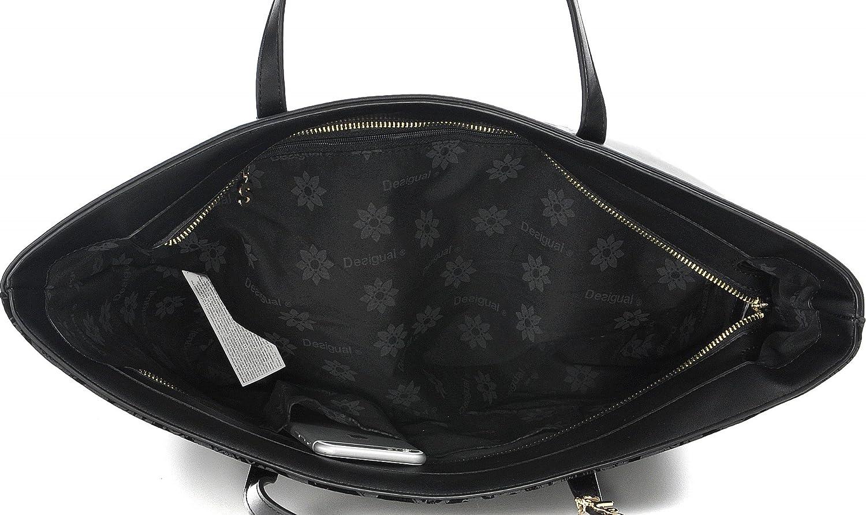 Sac Francisco Taille Desigual Unique Velvet San 67x50a8 Noir Amazon rtarUwvfq