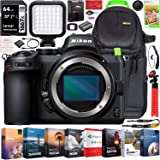 Nikon Z5 Mirrorless Camera Full Frame Body FX-Format 4K UHD Bundle with Deco Gear Photography Backpack + Photo Video LED Ligh