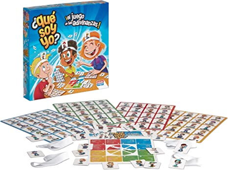 Falomir 9506 ¿Qué Soy Yo? - Juego para niños a partir de 9 años, 2-4 jugadores: Amazon.es: Juguetes y juegos