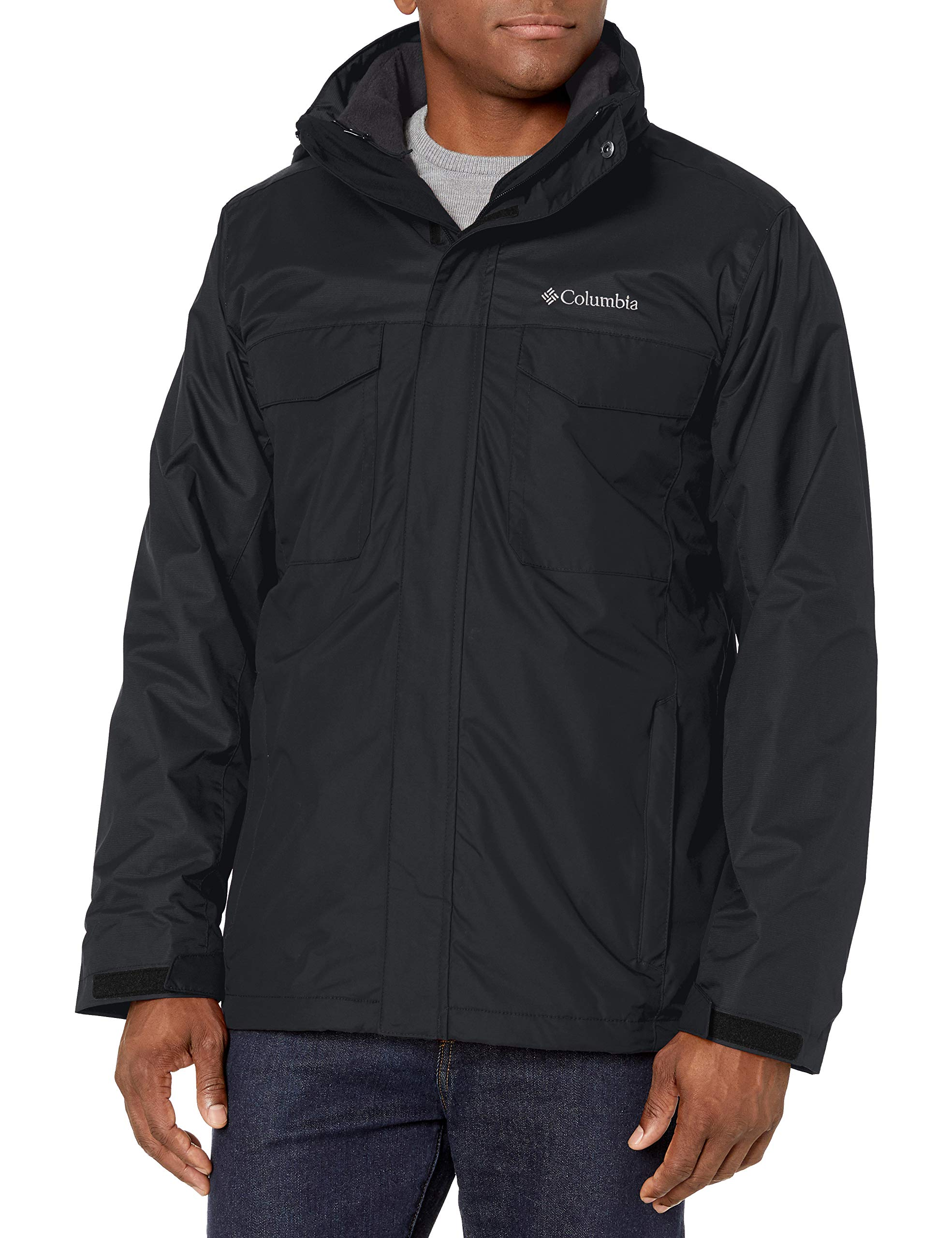 Columbia Men's Timberline Triple Interchange Jacket, Black, XX-Large by Columbia