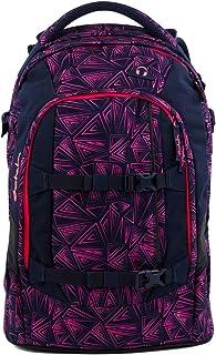Satch Sac à dos d'écolier Set de 3accessoires avec pack Pink Bermuda 9K8Rose Bermuda