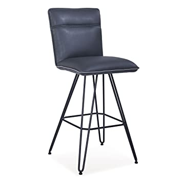 Tremendous Amazon Com Benjara Benzara Bm187626 Metal Leather Gmtry Best Dining Table And Chair Ideas Images Gmtryco