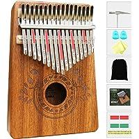 Kalimba - Thumb Piano 17 teclas con instrucciones