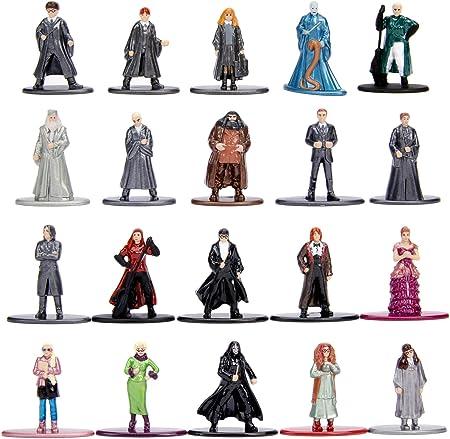 Para los fans de Harry Potter llega este súper set de nano figuras coleccionables de metal fundidas