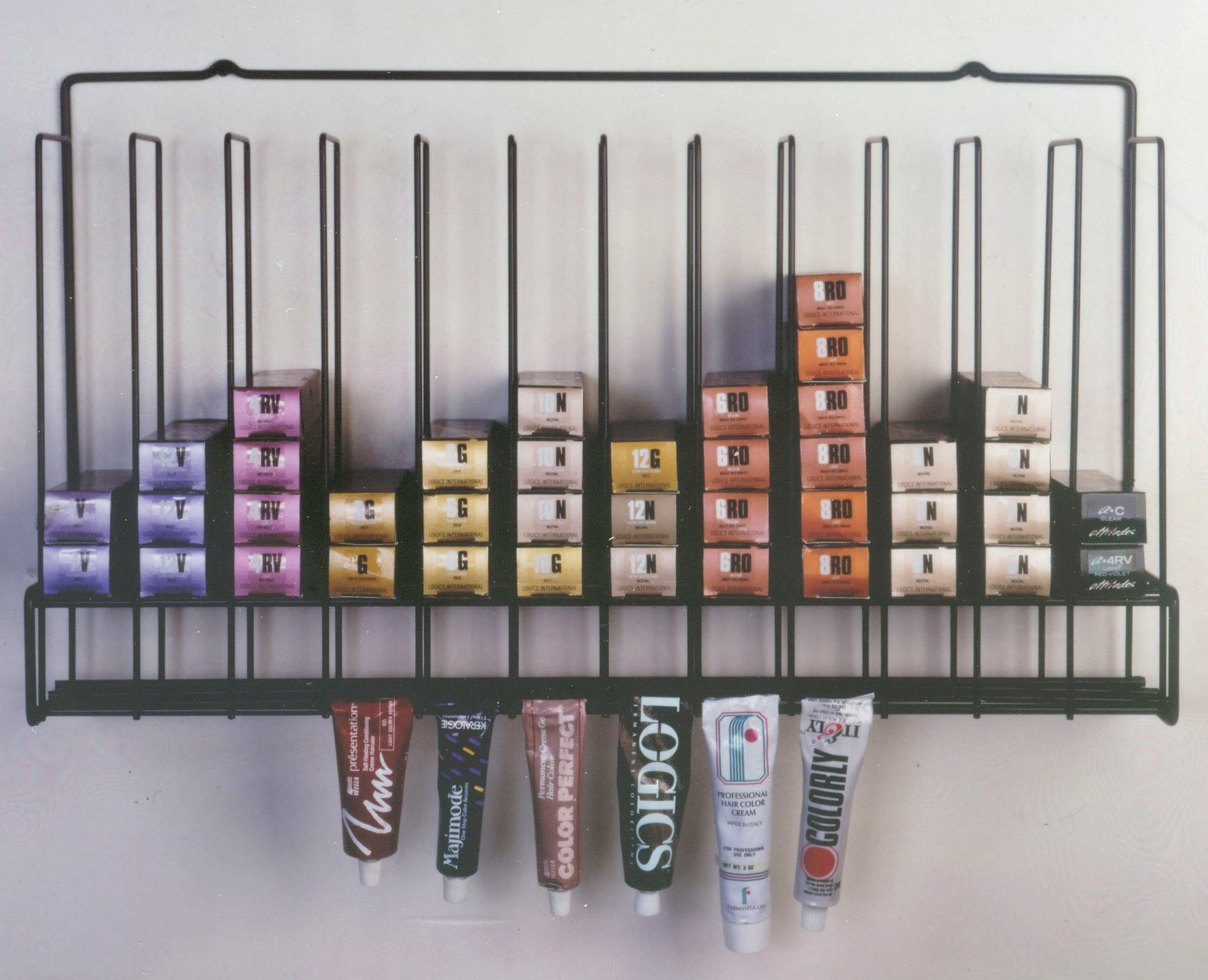 Tube Color Storage Rack - 3 Pack by Salon Interiors, Inc.