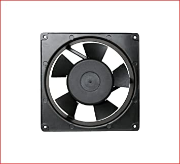 Maa Ku AC Small Kitchen Exhaust Fan,6.70u0026quot;inches (17x17x5cm) ,