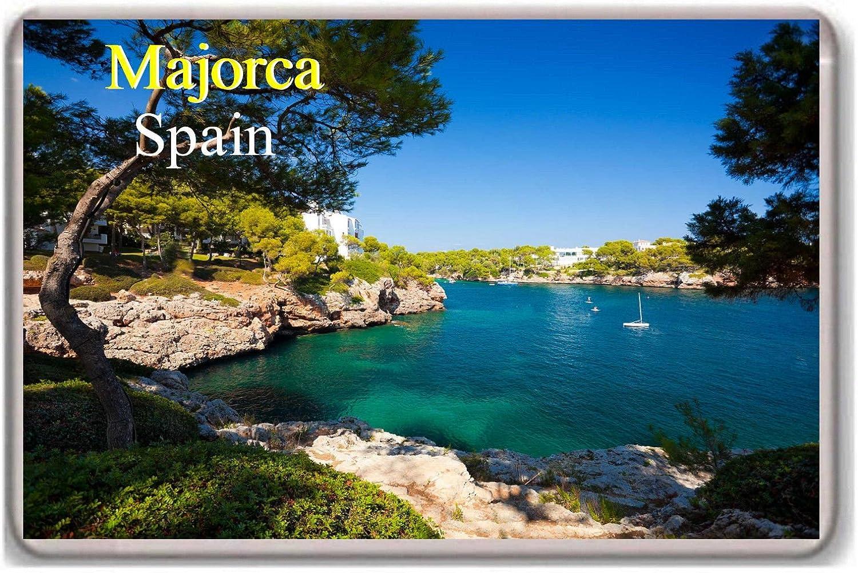 5cm 463m Round ϕ7 Majorca Mallorca Spain Fridge Magnet Magnetic Stone