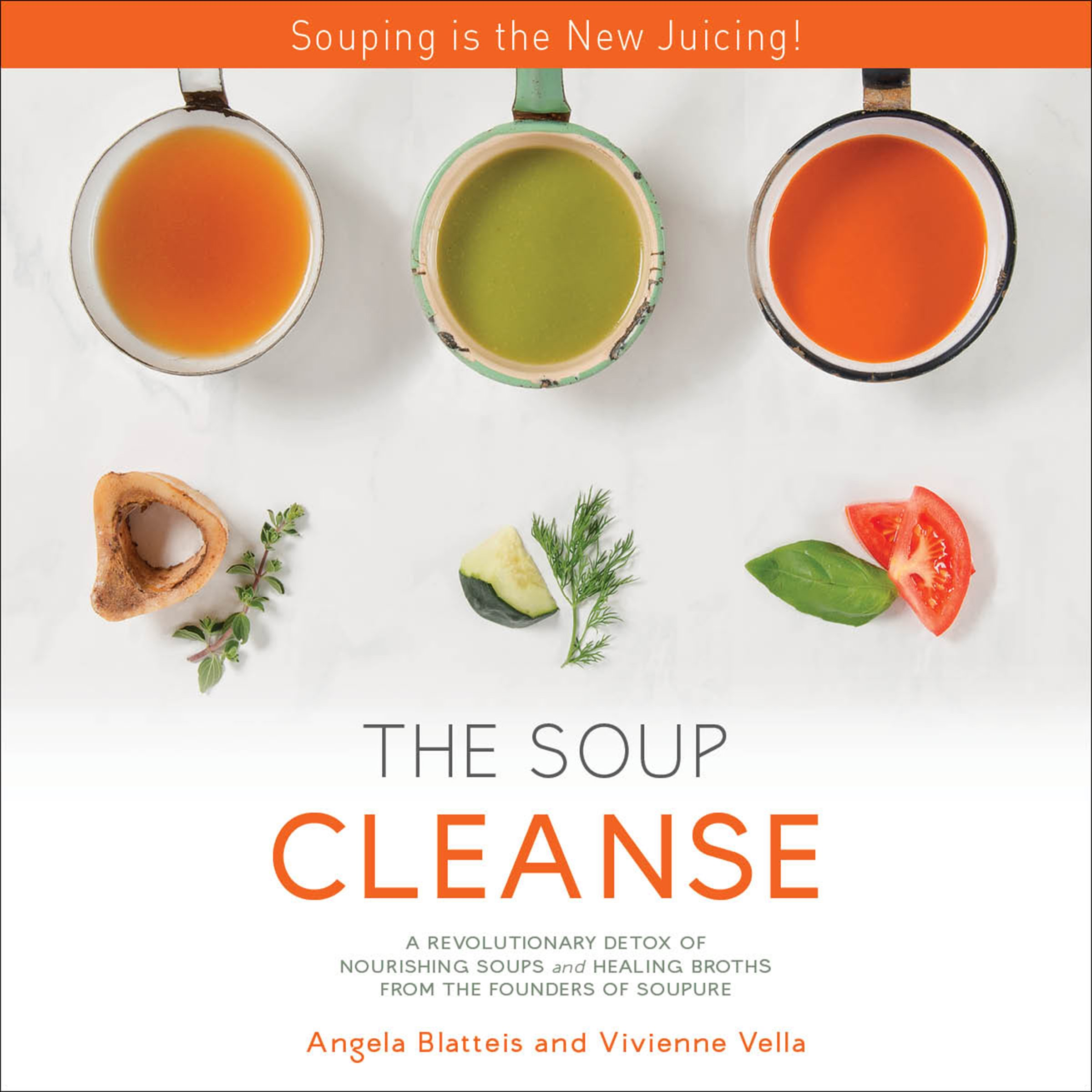 The Soup Cleanse: A Revolutionary Detox of Nourishing Soups and Healing Broths from the Founders of Soupure