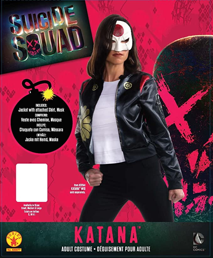 Rubies Womens Suicide Squad Katana Costume Kit