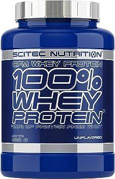 Oferta amazon: Scitec Nutrition 100% Whey Protein Proteína sin Sabor - 920 g