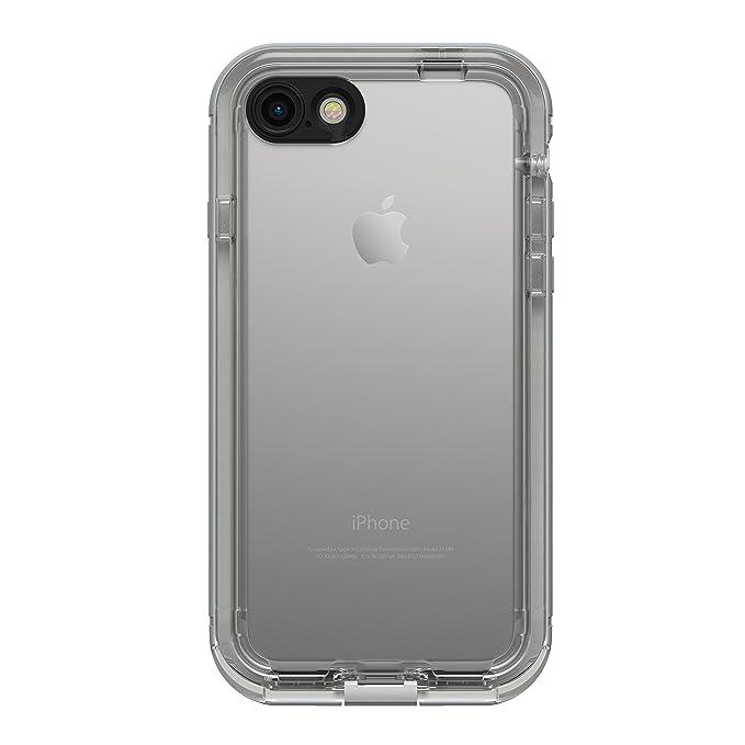 buy popular 6b523 b04de LifeProof NÜÜD Series Waterproof Case for iPhone 7 (ONLY) - Retail  Packaging - SNOWCAPPED (Bright White/Sleet)