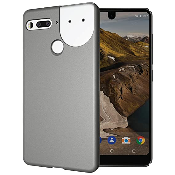 new styles bfe45 6618a Essential Phone PH-1 Case, TUDIA Low Profile Design [LULA] Polycarbonate  Snap On Back Protective Case Cover for Essential Phone PH-1 (Compatible  with ...