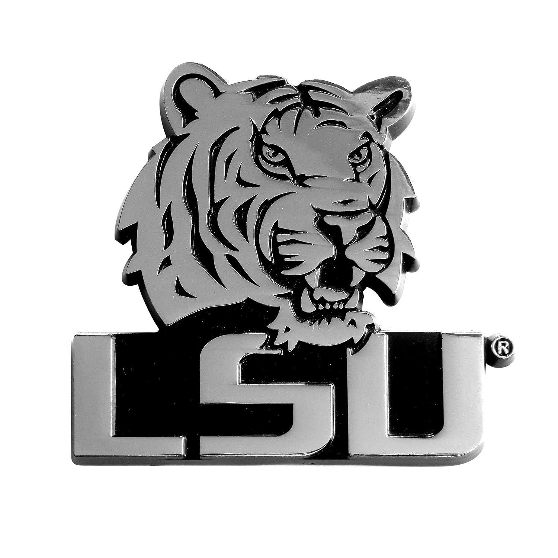 FANMATS NCAA Louisiana State University Tigers Chrome Team Emblem