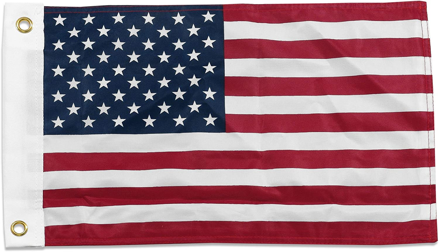 US Flag Store Superknit Polyester US Flag 12 by 18-Inch