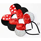 Minnie Mouse Ears Headbands with Bow Party Favors Costume Mickey