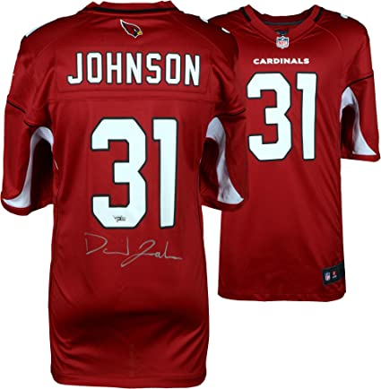 e6d05d238754 David Johnson Arizona Cardinals Autographed Red Nike Game Jersey - Fanatics  Authentic Certified - Autographed NFL
