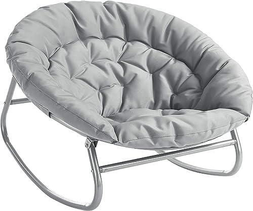Urban Shop Rocking Saucer Chair