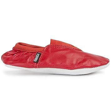 34cbdde94b02 Ballerina Gymnastic Dancing Trampoline Shoes Girls / Toddlers (Red, 8  Toddler)