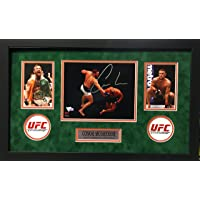 $149 » Conor McGregor Signed Autograph UFC Custom Framed 8x10 Photo Suede Matted Fanatics Authentic Certified