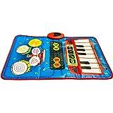 TAPETE MUSICAL 2 JUGADORES juega en equipo para crear canciones y comparte momentos de diversión- 70 x 45 cm-2…