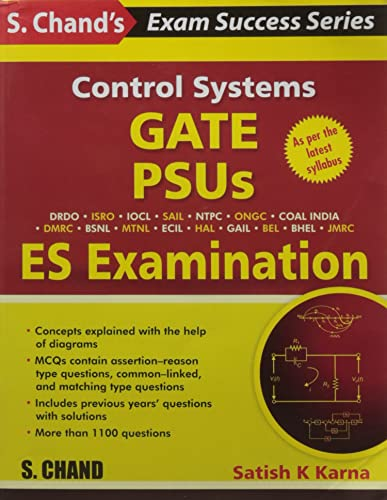 Control Systems - GATE; PSUS AND ES Examination