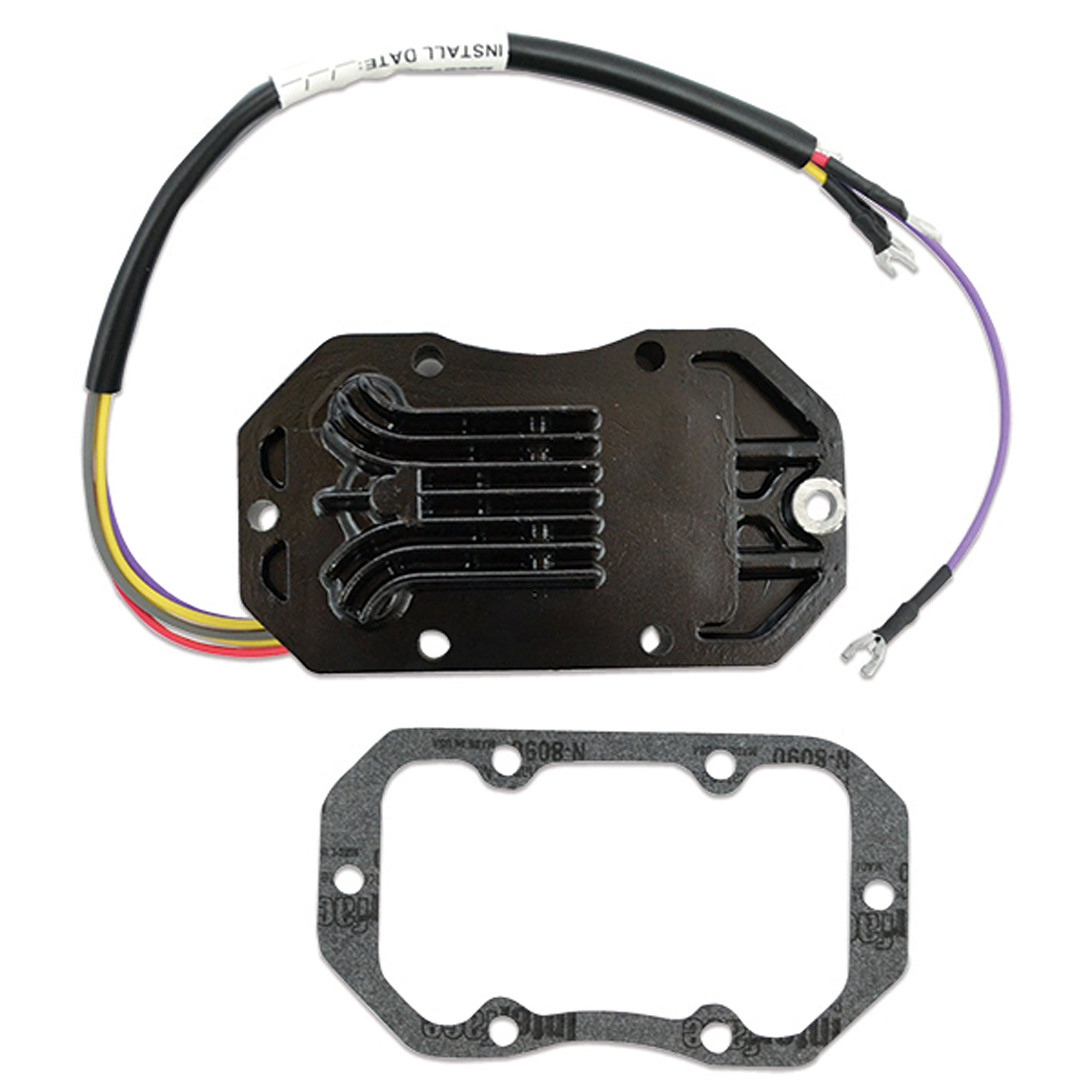 CDI Electronics 193-4204 Johnson/Evinrude Voltage Regulator-4/6 Cyl. 10 Amp (1984-1990) by CDI Electronics
