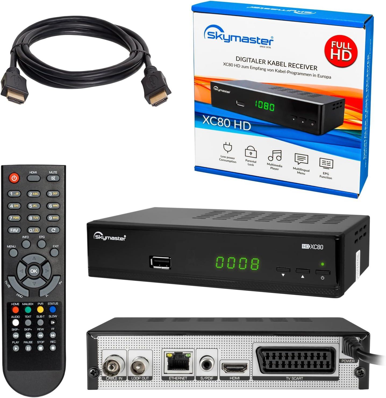 Kabelreceiver Hb Digital Set Skymaster Xc80 Hd Kabel Elektronik