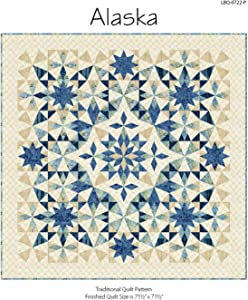 "Laundry Basket Quilts Traditional Quilt Pattern - Alaska (71.5"" x 71.5"")"