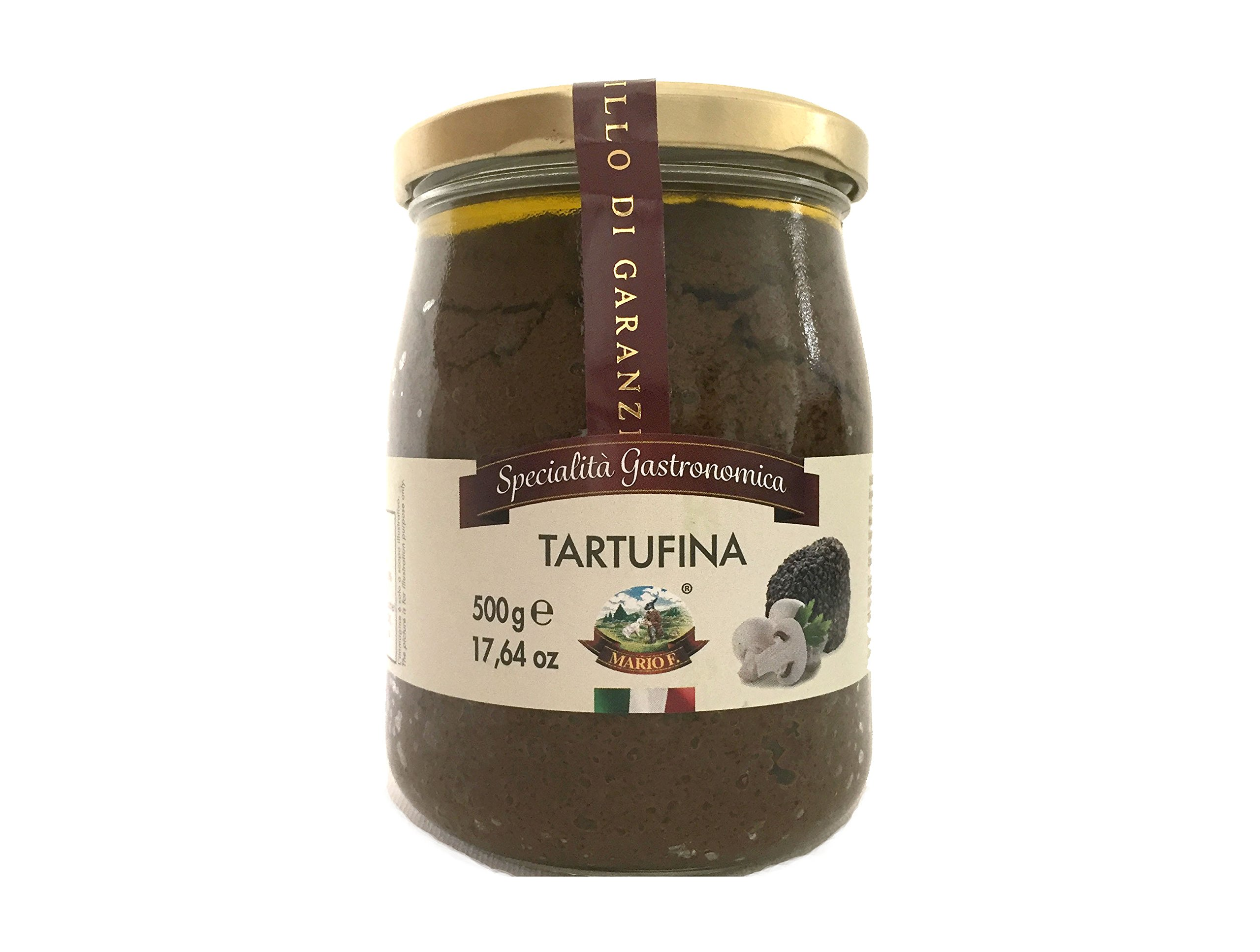 Fungo&Tartufo Tartufina Mushrooms and Truffle Sauce, 17.6 oz