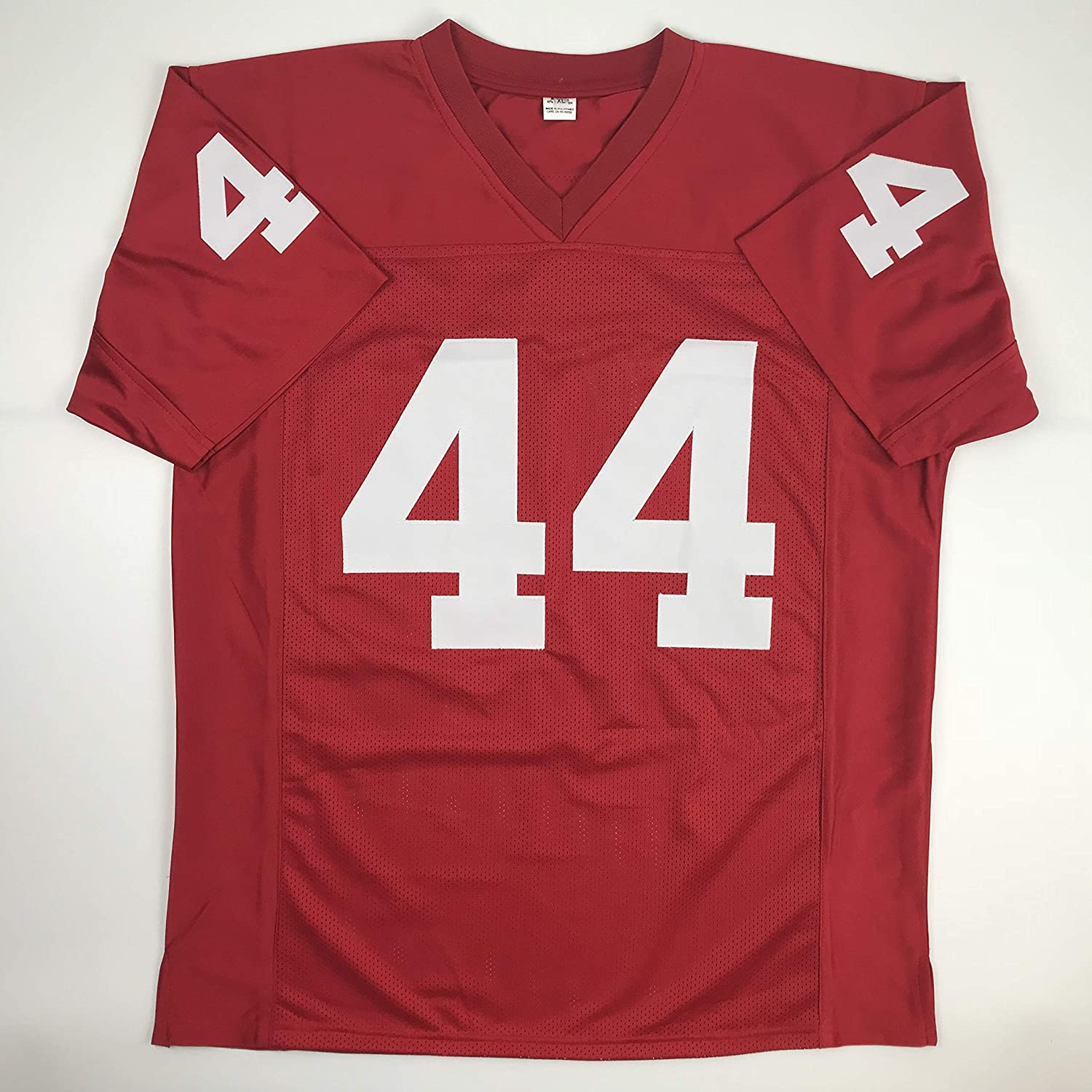 new arrival d9ae1 882d3 Amazon.com: Unsigned Forrest Gump Alabama Maroon Custom ...
